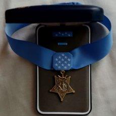 Militaria: USA MEDALLA DE HONOR NAVY - MOH DEL EJERCITO DE LA MARINA - SET ESPECIAL - RÉPLICA. Lote 58232428