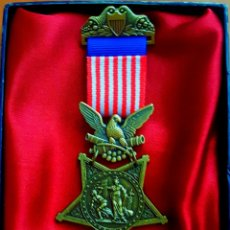 Militaria: USA ARMY CIVIL WAR 1862-1895 ARMY ORDER OF MEDAL HONOR - USA ARMY DE LA GUERRA CIVIL AÑO 1892-1895. Lote 182302616