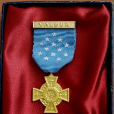 Militaria: US MEDAL TIFFANY CROSS 1919–1942 WW12 ORDER OF MEDAL HONOR - WW2 REPLICA AWARD. Lote 173245368