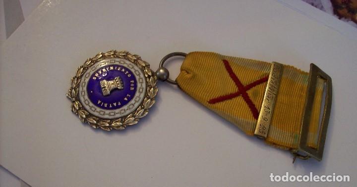 Militaria: MEDALLA SUFRIMIENTOS POR LA PATRIA DESEMBARCO DE ALHUCEMAS COMBATES DE CUDIA TAHAR 13 9 1925 - Foto 3 - 173398877