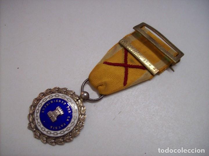 Militaria: MEDALLA SUFRIMIENTOS POR LA PATRIA DESEMBARCO DE ALHUCEMAS COMBATES DE CUDIA TAHAR 13 9 1925 - Foto 4 - 173398877