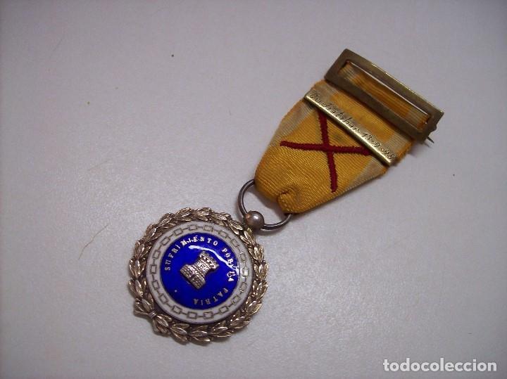 Militaria: MEDALLA SUFRIMIENTOS POR LA PATRIA DESEMBARCO DE ALHUCEMAS COMBATES DE CUDIA TAHAR 13 9 1925 - Foto 6 - 173398877