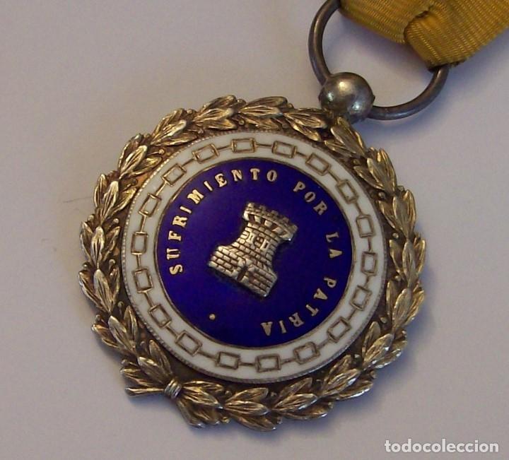 Militaria: MEDALLA SUFRIMIENTOS POR LA PATRIA DESEMBARCO DE ALHUCEMAS COMBATES DE CUDIA TAHAR 13 9 1925 - Foto 7 - 173398877