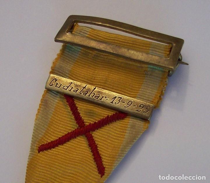 Militaria: MEDALLA SUFRIMIENTOS POR LA PATRIA DESEMBARCO DE ALHUCEMAS COMBATES DE CUDIA TAHAR 13 9 1925 - Foto 14 - 173398877