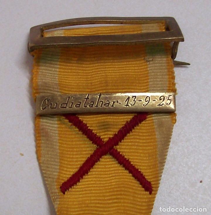 Militaria: MEDALLA SUFRIMIENTOS POR LA PATRIA DESEMBARCO DE ALHUCEMAS COMBATES DE CUDIA TAHAR 13 9 1925 - Foto 15 - 173398877