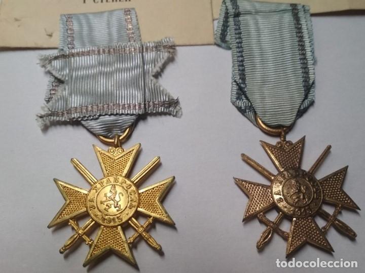 Militaria: Set completo Medallas valor Bulgaria( tropa y suboficiales )1915/41 con sobres entrega Muy raro!!!! - Foto 2 - 173445777