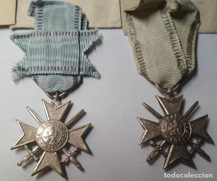 Militaria: Set completo Medallas valor Bulgaria( tropa y suboficiales )1915/41 con sobres entrega Muy raro!!!! - Foto 3 - 173445777