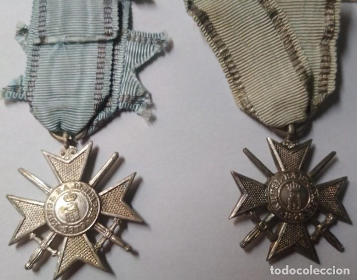 Militaria: Set completo Medallas valor Bulgaria( tropa y suboficiales )1915/41 con sobres entrega Muy raro!!!! - Foto 5 - 173445777