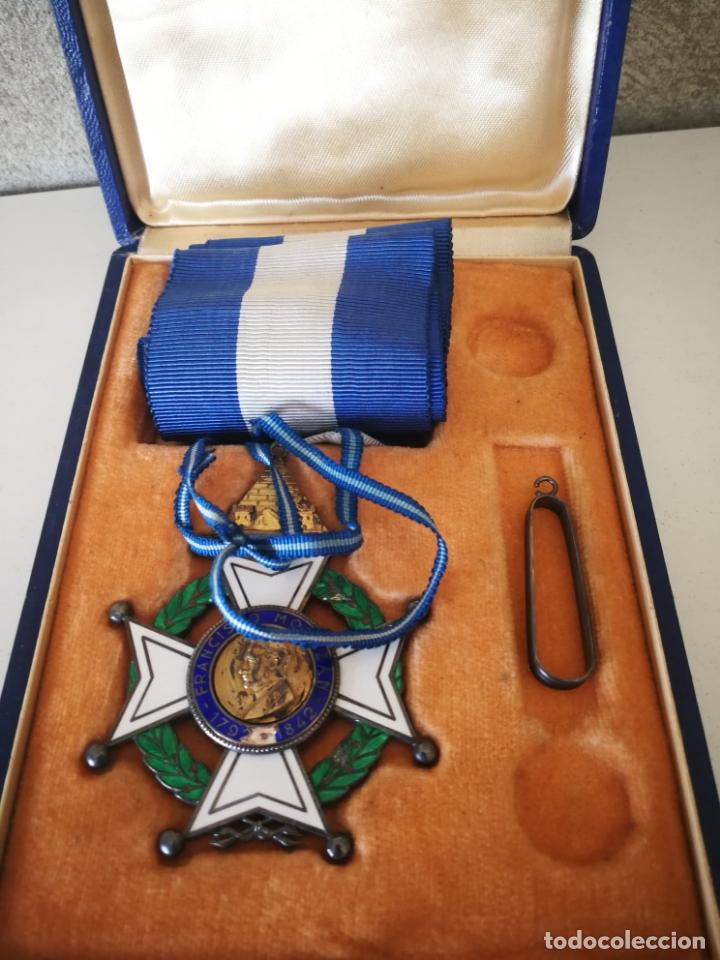 Militaria: CRUZ ORDEN FRANCISCO MORAZAN HONDURAS MEDALLA ESMALTE - Foto 3 - 173501685