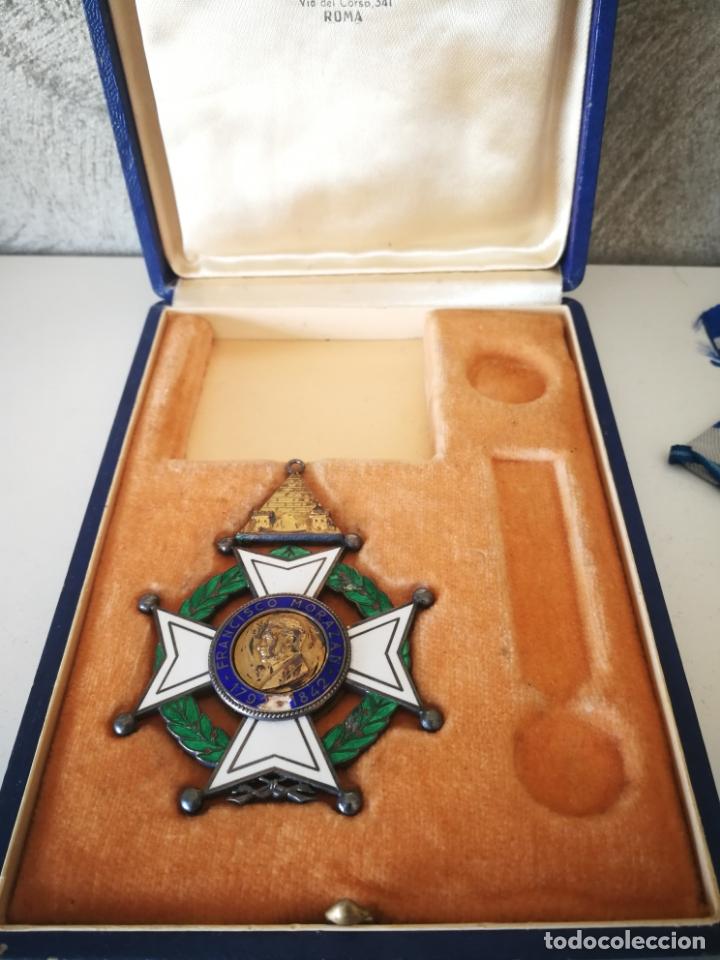 Militaria: CRUZ ORDEN FRANCISCO MORAZAN HONDURAS MEDALLA ESMALTE - Foto 11 - 173501685