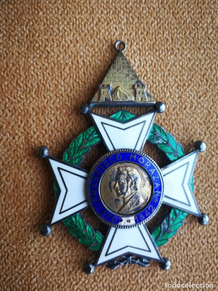Militaria: CRUZ ORDEN FRANCISCO MORAZAN HONDURAS MEDALLA ESMALTE - Foto 12 - 173501685