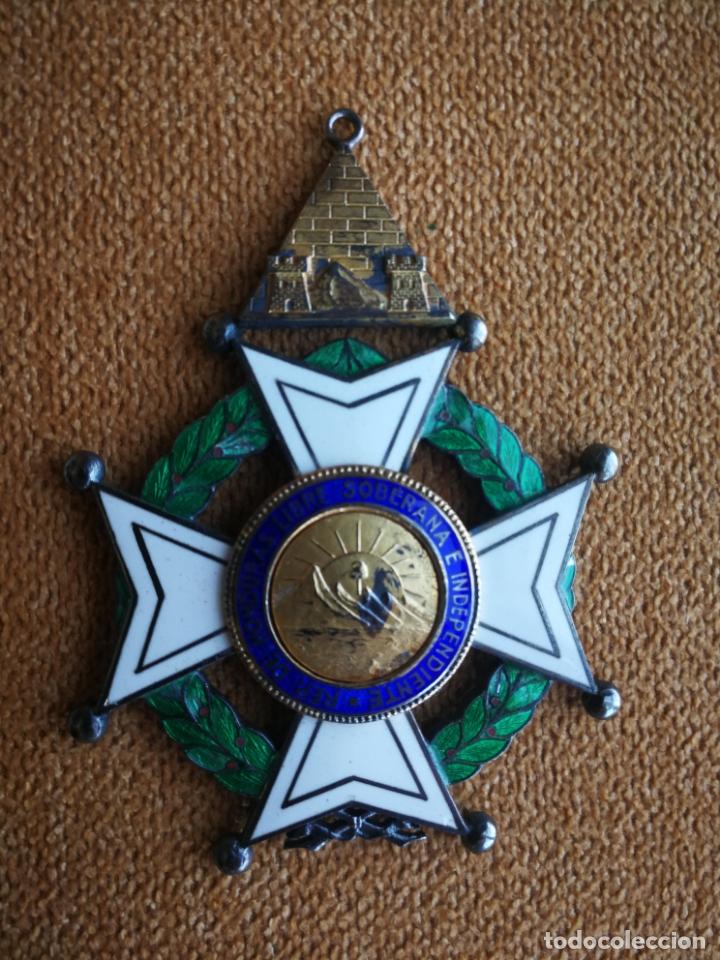 Militaria: CRUZ ORDEN FRANCISCO MORAZAN HONDURAS MEDALLA ESMALTE - Foto 13 - 173501685