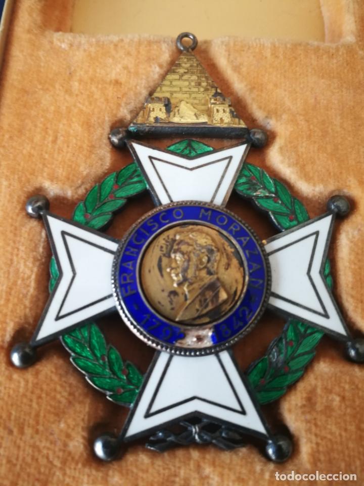 Militaria: CRUZ ORDEN FRANCISCO MORAZAN HONDURAS MEDALLA ESMALTE - Foto 15 - 173501685