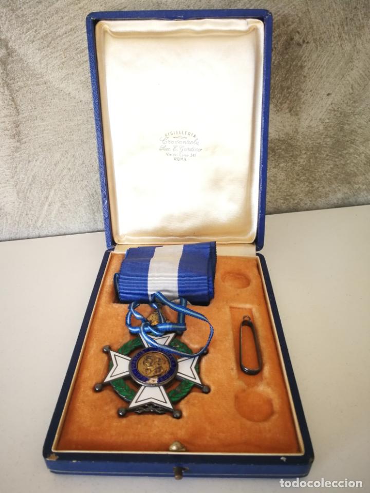 CRUZ ORDEN FRANCISCO MORAZAN HONDURAS MEDALLA ESMALTE (Militar - Medallas Extranjeras Originales)