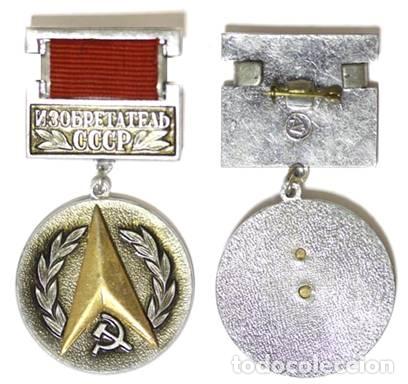 INVENTOR .URSS (Militar - Medallas Internacionales Originales)