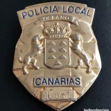 Militaria: PLACA POLICÍA LOCAL DE CANARIAS. Lote 173535025