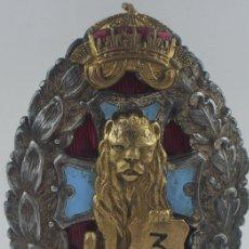 Militaria: PLACA DE HERIDO BULGARIA, SGM, ENTREGADA A MIEMBROS HEER Y LSAH EN BALCANES. MUY RARA. Lote 173574658