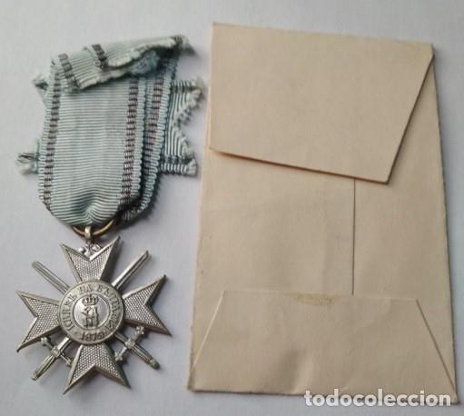 Militaria: MEDALLA BULGARA AL VALOR 3ª CLASE. GUERRA BALCANES. 1912/13. 100% ORIGINAL - Foto 3 - 173575920