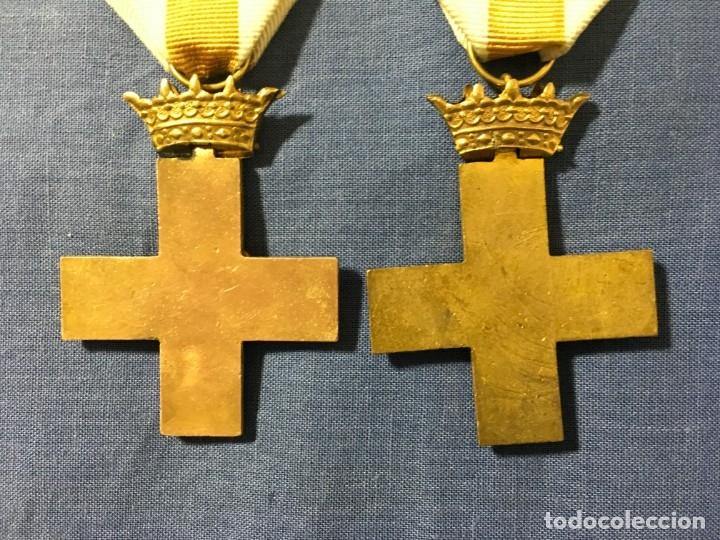 Militaria: 2 MEDALLAS a la constancia militar ( 1 pensionable con distintivo BLANCO y AMARILLO ) - Foto 5 - 173597349