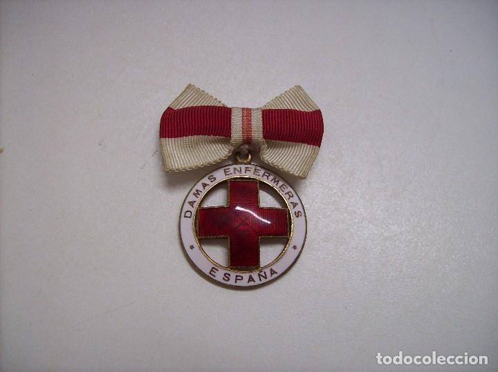 MEDALLA DAMAS ENFERMERA CRUZ ROJA (Militar - Medallas Españolas Originales )