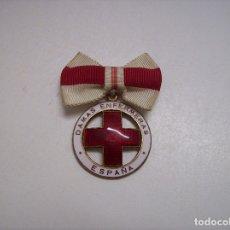 Militaria: MEDALLA DAMAS ENFERMERA CRUZ ROJA. Lote 173860120