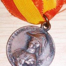 Militaria: MEDALLA CENTENARIO SITIO DE ZARAGOZA 1908 PRINCESA. Lote 173867789