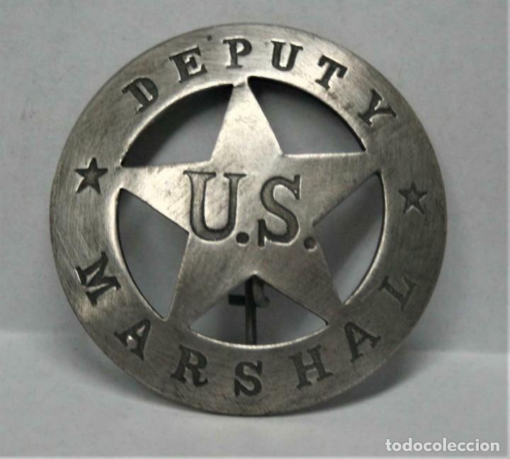 ESTRELLA SHERIFF REPLICA DE LA ORIGINAL MARSHAL DEPUTY - TAL FOTO U.S. (Militar - Reproducciones y Réplicas de Medallas )