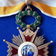 Militaria: ENCOMIENDA ORDEN ISABEL LA CATOLICA - EPOCA ALFONSO XIII. Lote 173965215