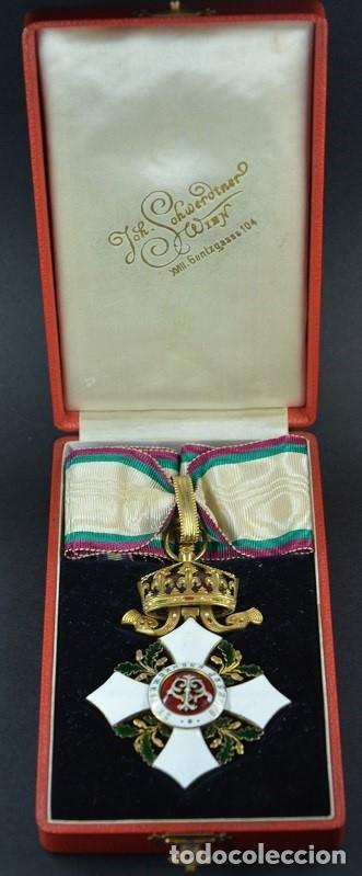 ORDEN AL MÉRITO CIVIL III CLASE, REINO DE BULGARIA. PERIODO FERNANDO I, DE 1902/08. RARA! (Militar - Medallas Extranjeras Originales)