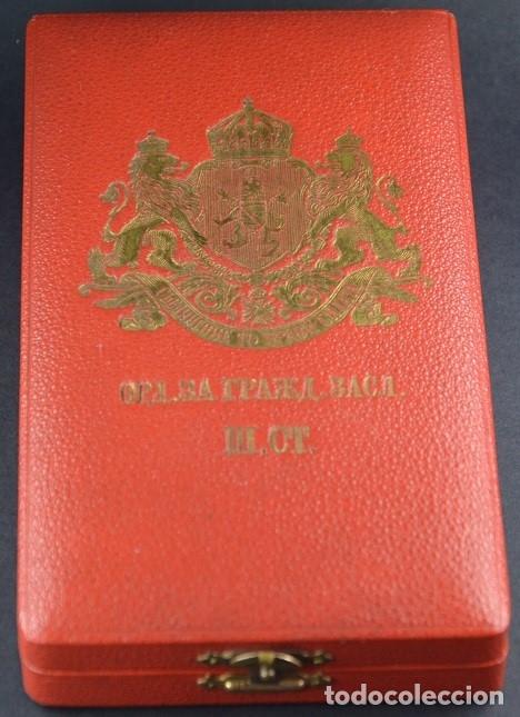 Militaria: Orden al Mérito Civil III Clase, Reino de Bulgaria. Periodo Fernando I, de 1902/08. Rara! - Foto 2 - 173967204