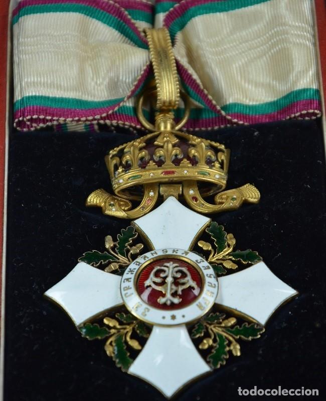 Militaria: Orden al Mérito Civil III Clase, Reino de Bulgaria. Periodo Fernando I, de 1902/08. Rara! - Foto 6 - 173967204