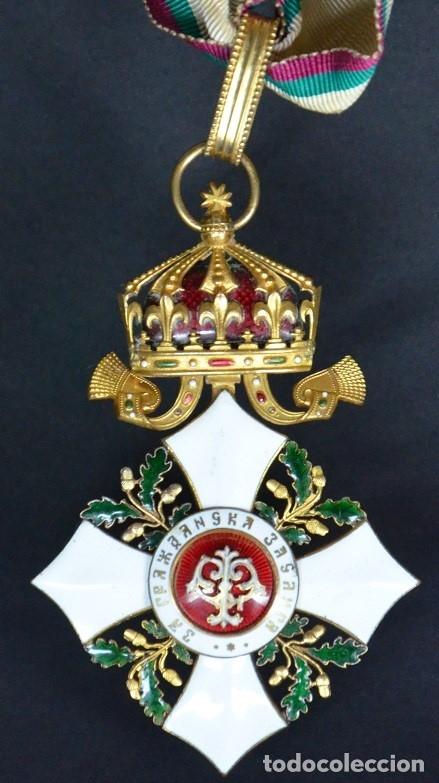 Militaria: Orden al Mérito Civil III Clase, Reino de Bulgaria. Periodo Fernando I, de 1902/08. Rara! - Foto 8 - 173967204