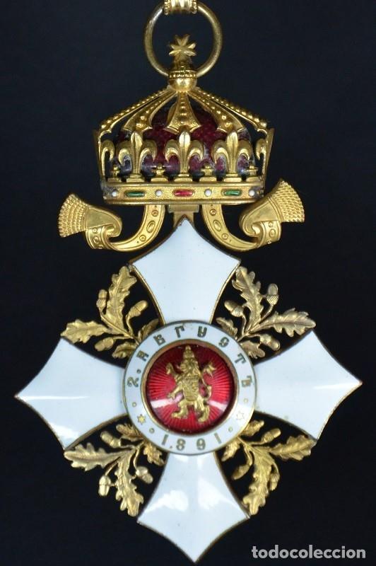 Militaria: Orden al Mérito Civil III Clase, Reino de Bulgaria. Periodo Fernando I, de 1902/08. Rara! - Foto 11 - 173967204