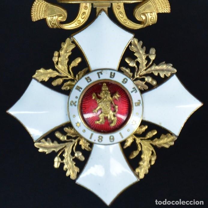Militaria: Orden al Mérito Civil III Clase, Reino de Bulgaria. Periodo Fernando I, de 1902/08. Rara! - Foto 12 - 173967204