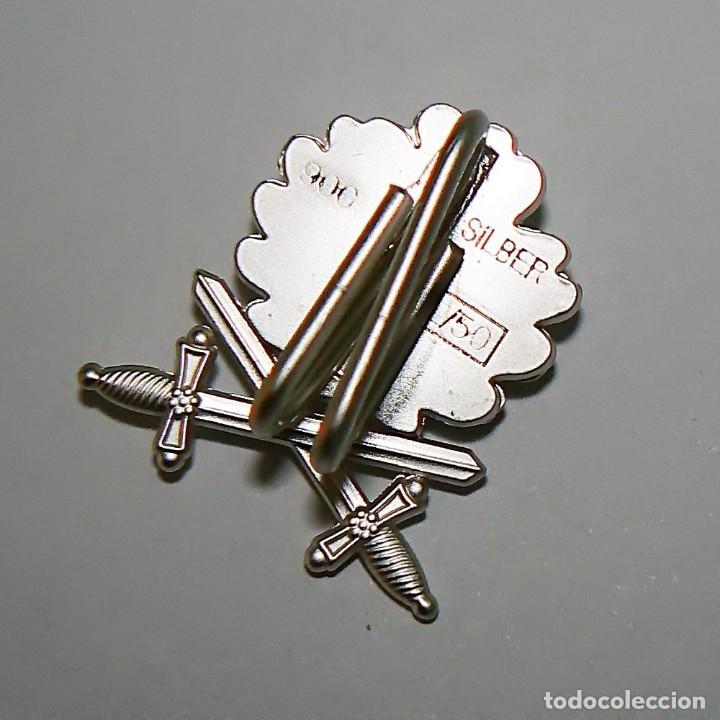 Militaria: Hojas de roble y espadas en plata con cinta.para la cruz de hierro. tercer reich - Foto 3 - 174024593