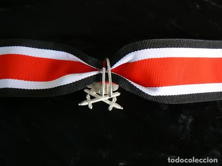 Militaria: Hojas de roble y espadas en plata con cinta.para la cruz de hierro. tercer reich - Foto 4 - 174024593