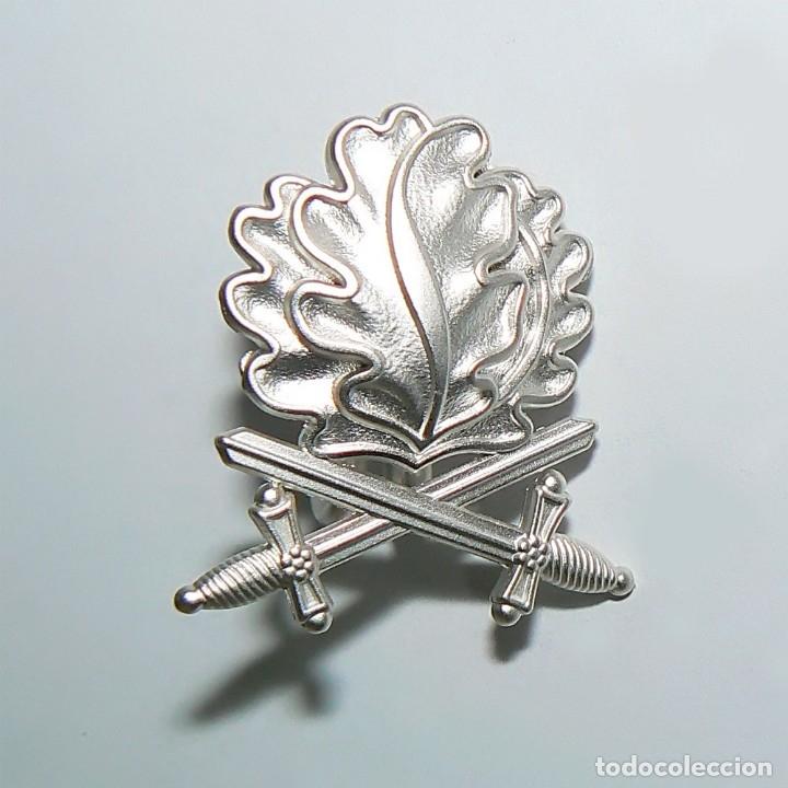 Militaria: Hojas de roble y espadas en plata con cinta.para la cruz de hierro. tercer reich - Foto 5 - 174024593