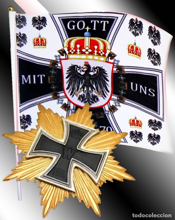 Militaria: Estrella de la gran cruz de la cruz de hierro. Stern zum Großkreuz des Eisernen Kreuzes - Foto 10 - 174025567