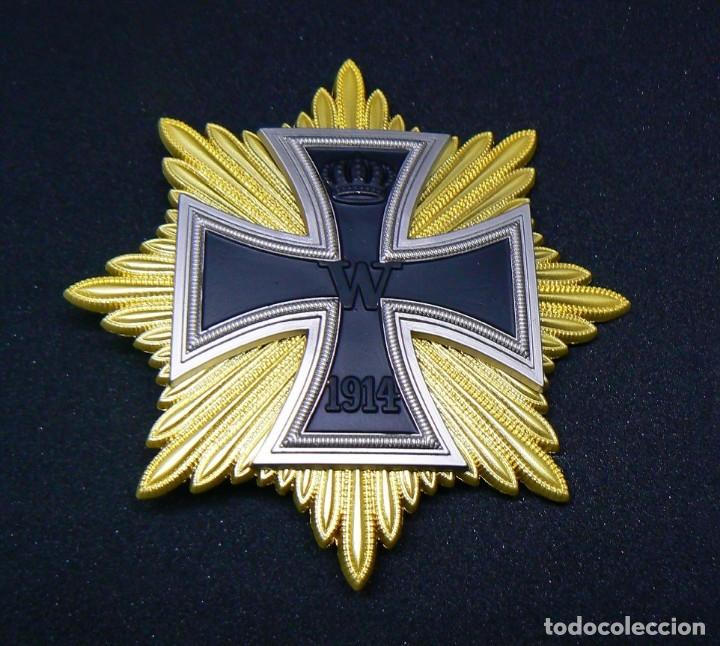 ESTRELLA DE LA GRAN CRUZ DE LA CRUZ DE HIERRO. STERN ZUM GROSSKREUZ DES EISERNEN KREUZES (Militar - Reproducciones y Réplicas de Medallas )
