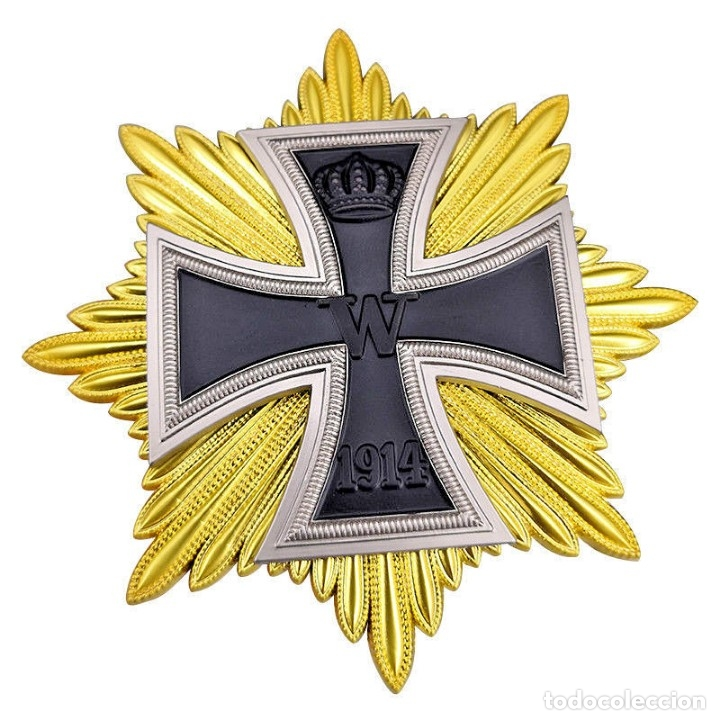 Militaria: Estrella de la gran cruz de la cruz de hierro. Stern zum Großkreuz des Eisernen Kreuzes - Foto 8 - 214548478