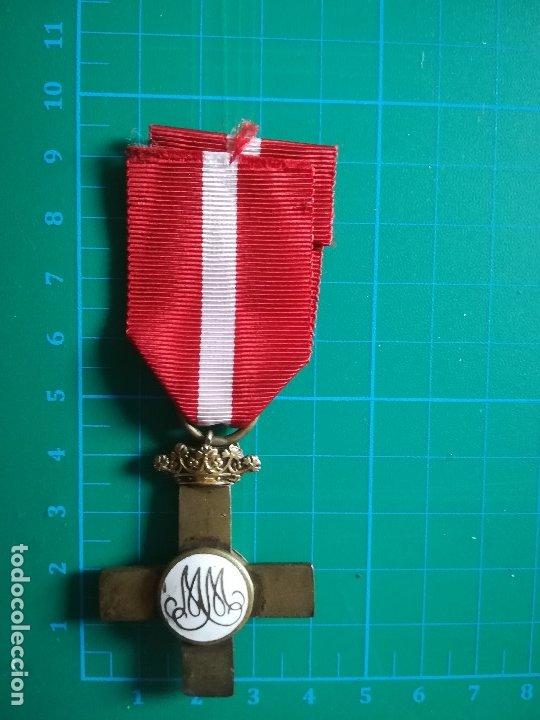 Militaria: Cruz Roja Mérito Militar Guerra Civil Española - Foto 2 - 174041805