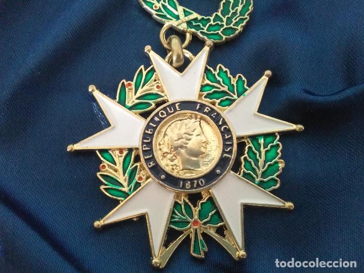 Militaria: MEDALLA FRANCESA REPUBLIQUE FRANCAISE 1870 HONNEUR ET PAT RIE - Foto 3 - 174165935