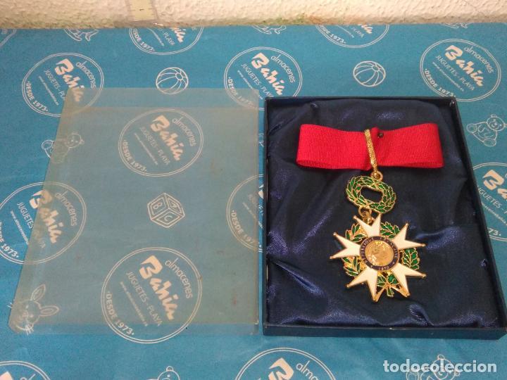 MEDALLA FRANCESA REPUBLIQUE FRANCAISE 1870 HONNEUR ET PAT RIE (Militar - Reproducciones y Réplicas de Medallas )
