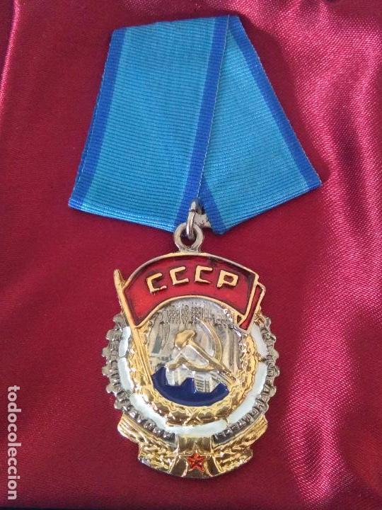 Militaria: MEDALLA unión soviética cccp rusa urss Rusia - Foto 2 - 174166619
