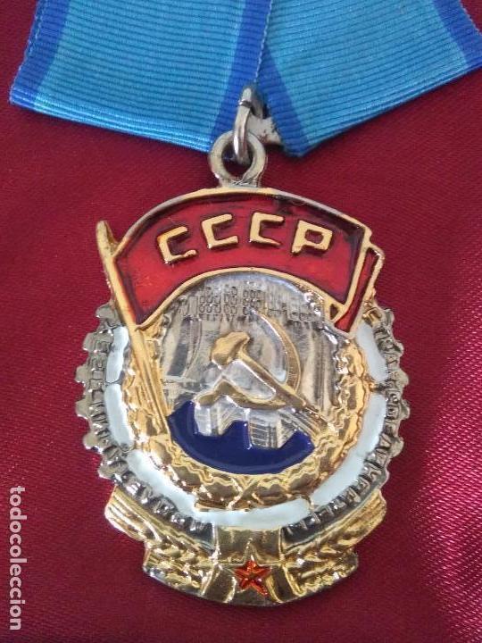Militaria: MEDALLA unión soviética cccp rusa urss Rusia - Foto 5 - 174166619