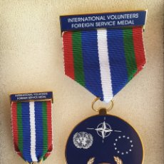 Militaria: MEDALLAS MILITARES THE INTERNATIONAL VOLUNTEERS FOREIGN SERVICE MEDAL. Lote 174391769