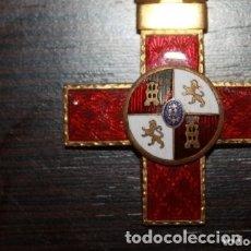 Militaria: MEDALLA CRUZ AL MERITO MILITAR DE 1ª CLASE DISTINTIVO ROJO-GUERRA CIVIL. Lote 174569332