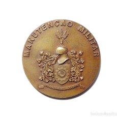 Militaria: MEDALLA MANTENIMIENTO MILITAR 8 CM DE DIÁMETRO. PORTUGAL.. Lote 174986858