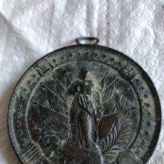 Militaria: BONITA MEDALLA MILITAR DE INFANTERÍA 8 DE DICIEMBRE 1892. Lote 175029839