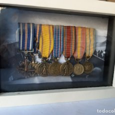 Militaria: WW2. ESTADOS UNIDOS. PASADOR MEDALLAS PILOTO. CON MARCO. Lote 175193058